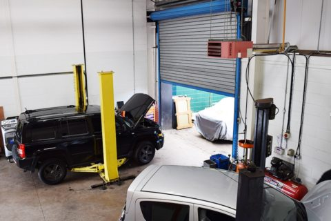 Car Workshop Larbert home