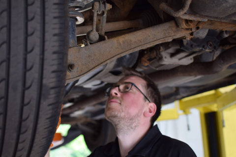 suspension repairs in larbert