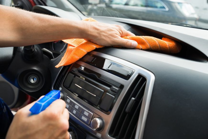Spring cleaning your car interior